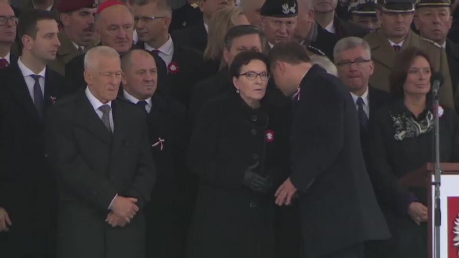 Ewa Kopacz i Andrzej Duda
