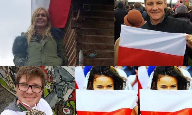 Gwiazdy świętowały Dzień Niepodległości. Kto wziął udział w marszu, a kto zdobył medal?