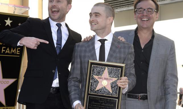 Harry Potter wreszcie doceniony! Daniel Radcliffe dostał gwiazdę w Alei Sław [ZDJĘCIA]