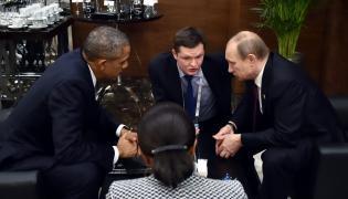Spotkanie Obama - Putin