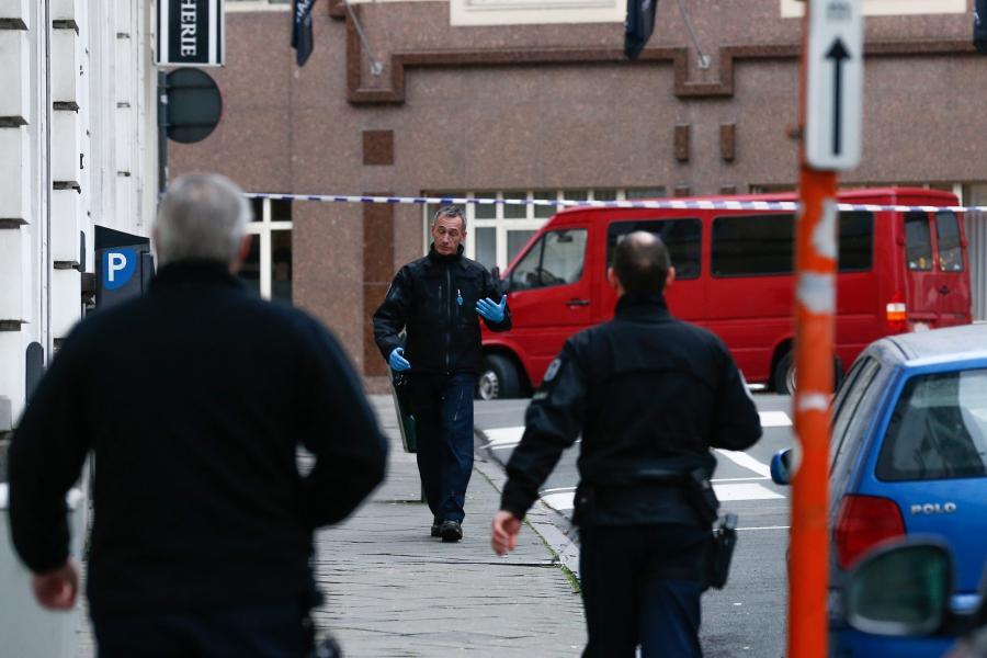 Belgijska policja sprawdza podejrzany samochód