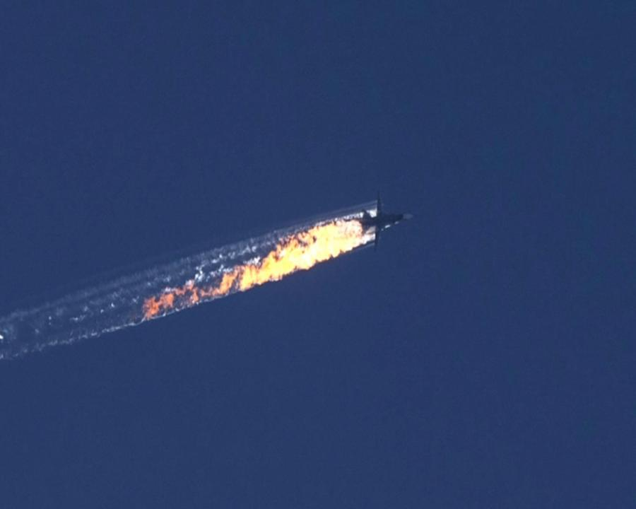 Zestrzelenie rosyjskiego samolotu