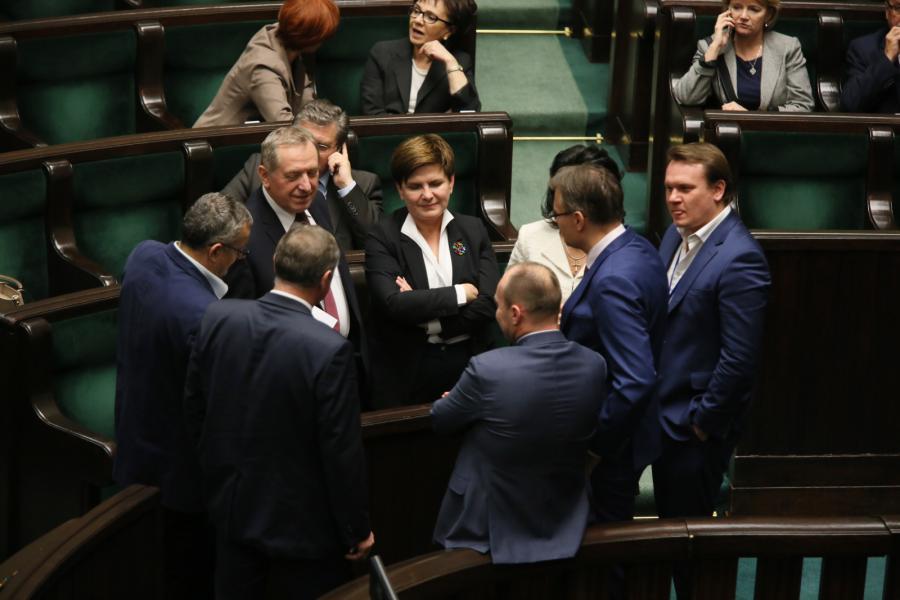Beata Szydło w Sejmie