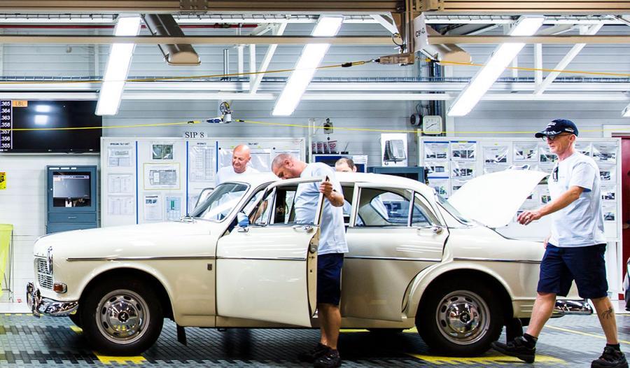 Volvo amazon z pierwszej serii. Dziś w Ghent produkowane są modele V40 oraz V40 Cross Country