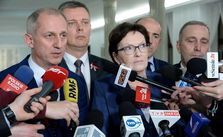 Sławomir Neumann, Tomasz Siemoniak, Ewa Kopacz, Borys Budka, Grzegorz Schetyna