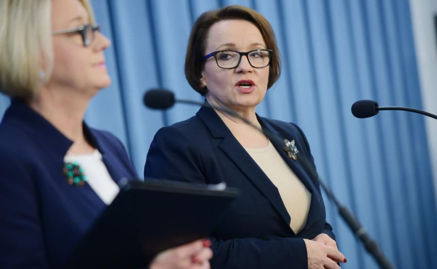 Marzena Machałek i Anna Zalewska