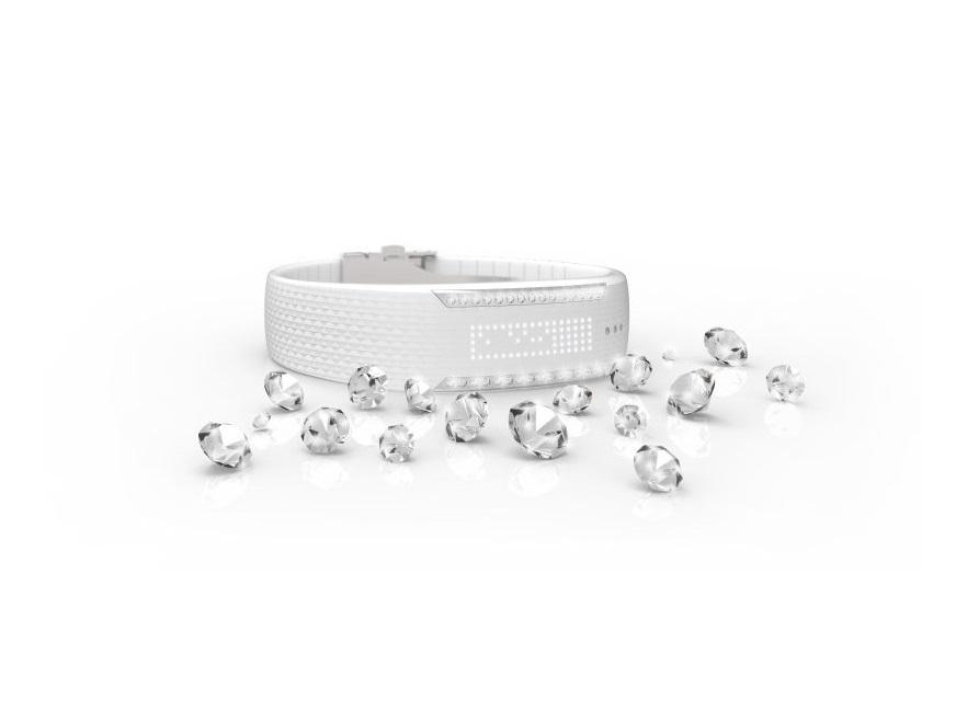 Monitor aktywności Polar Loop Crystal ozdobiony kryształami Swarovskiego