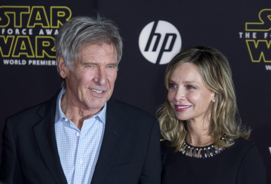 Harrison Ford i jego żona Calista Flockhart