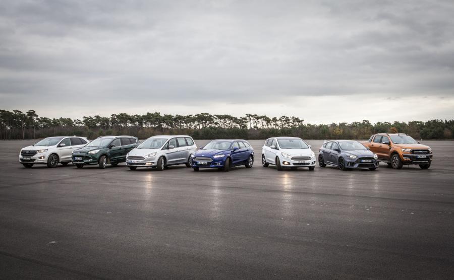 Ford edge, kuga, galaxy, mondeo, S-MAX, focus RS i ranger