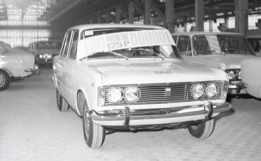 Fiat 125p - pierwszy egzemplarz