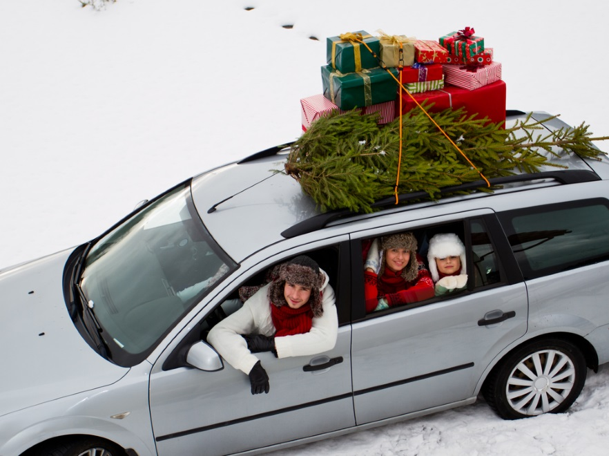 Rodzinna podróż świąteczna