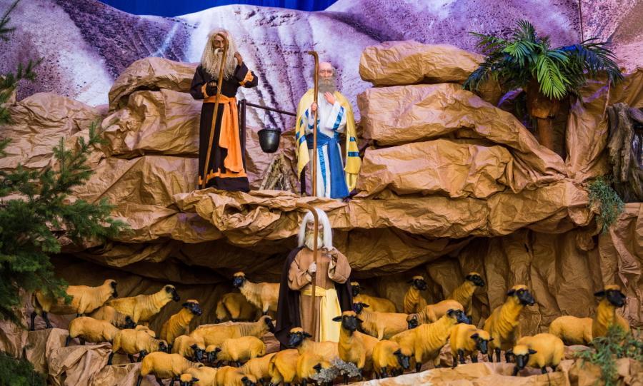 SZOPKA BOŻONARODZENIOWA W KOŚCIELE ŚW. FRANCISZKA SERAFICKIEGO W POZNANIU