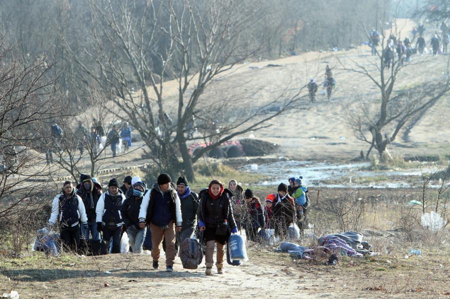 Grupa uchodźców