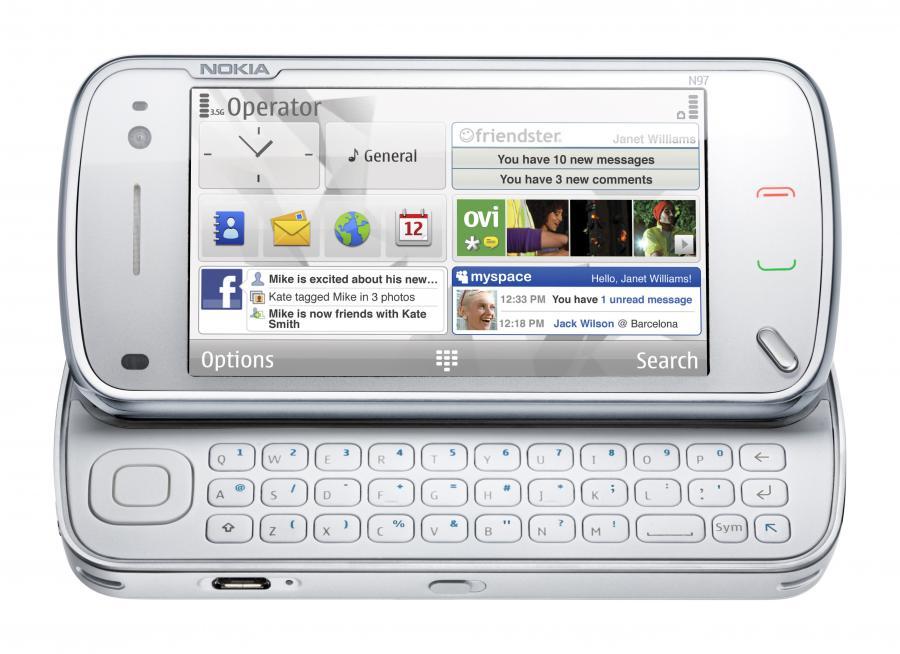 N97 - nowy wszystkomający smartphone Nokii