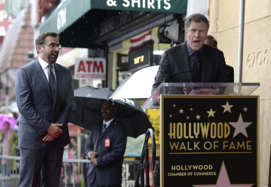 Steve Carell i jego przyjaciel Will Ferrell