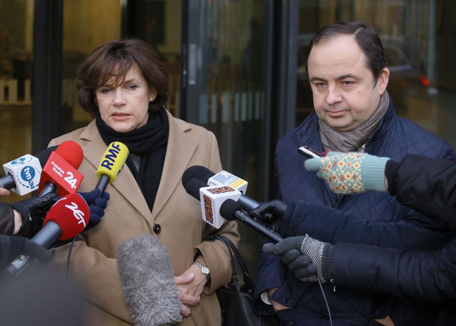Marzenna Guz-Vetter i Konrad Szymański
