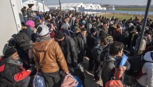 Uchodźcy na grecko-macedońskiej granicy