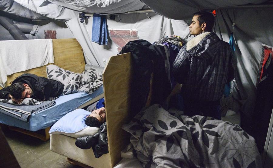 Obóz dla uchodźców w Danii
