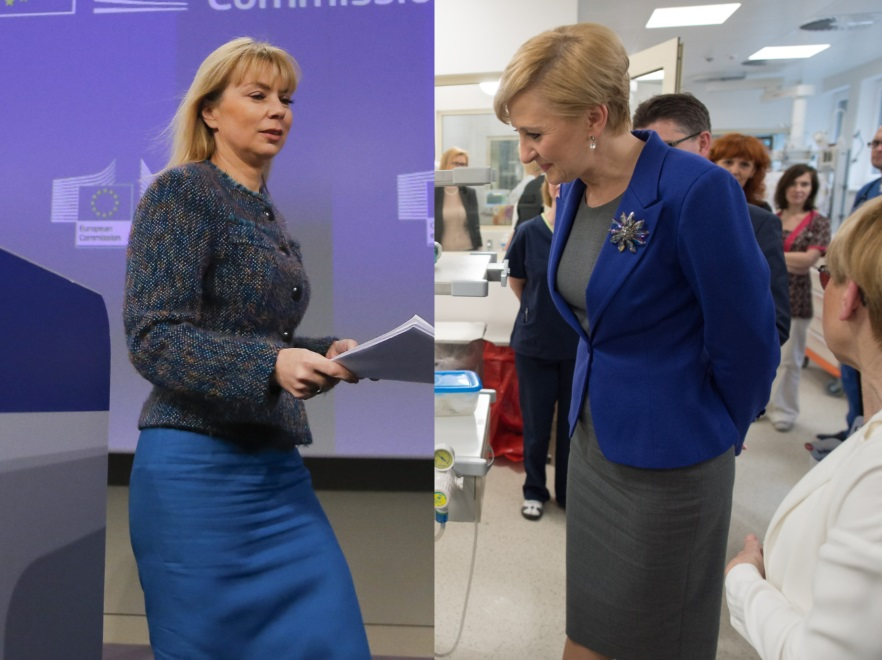 Elżbieta Bieńkowska i Agata Kornhauser-Duda