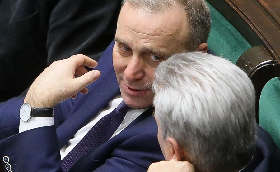 Grzegorz Schetyna w Sejmie