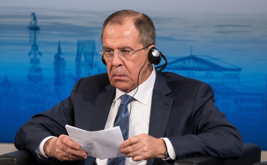 Szef rosyjskiej dyplomacji, Siergiej Ławrow
