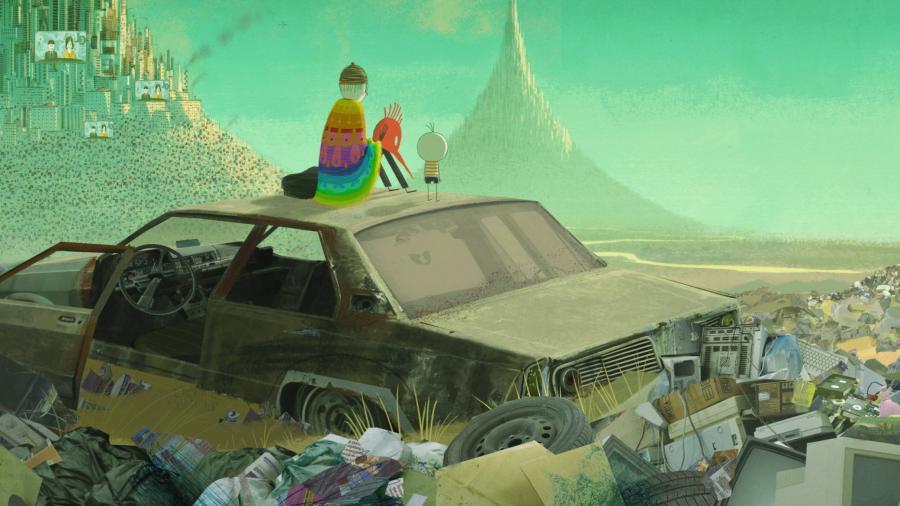 """Chłopiec i świat"" (reżyseria Alê Abreu)"