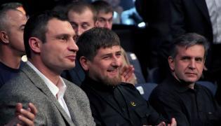 Ramzan Kadyrow i Witalij Kliczko
