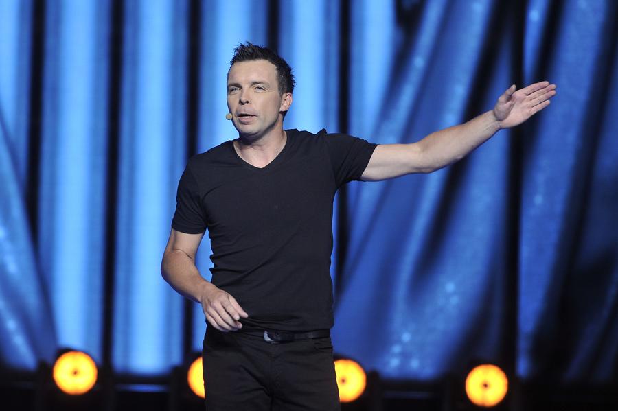 Marcin Wójcik z kabaretu Ani Mru Mru