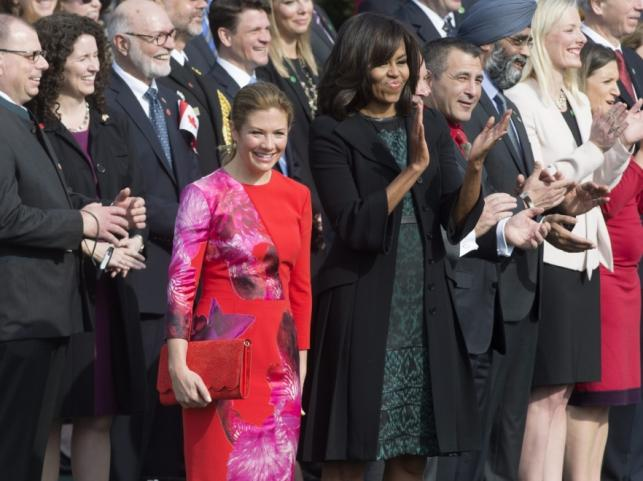 Sophie Gregoire Trudeau; Michelle Obama