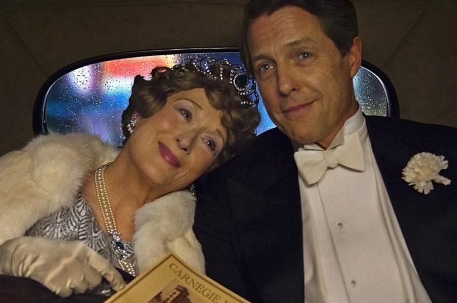 Meryl Streep i – jak zawsze czarujący –Hugh Grant