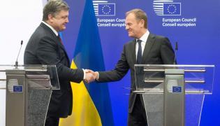 Petro Poroszenko i Donald Tusk