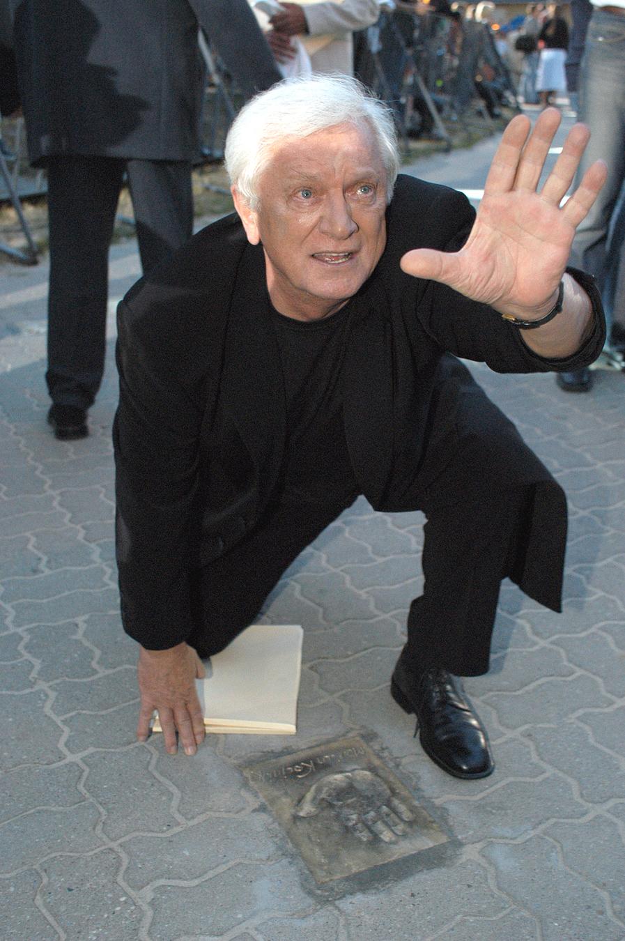 Marian Kociniak na Festiwalu Gwiazd w Międzyzdrojach 2003