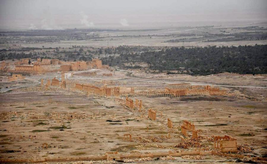 PALMIRA ODBITA Z RĄK DŻIHADYSTÓW