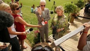 Charlie i Shirley Watts w Janowie Podlaskim