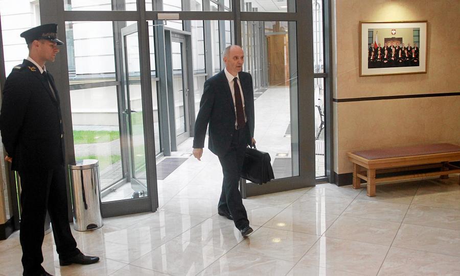 Przewodniczący Komisji Nadzoru Finansowego Andrzej Jakubiak