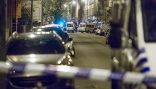 Policyjny rajd w Brukseli