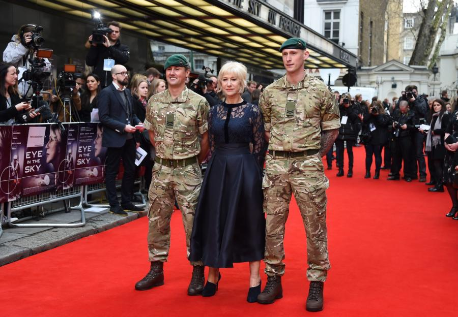 Helen Mirren pod specjalnąochroną