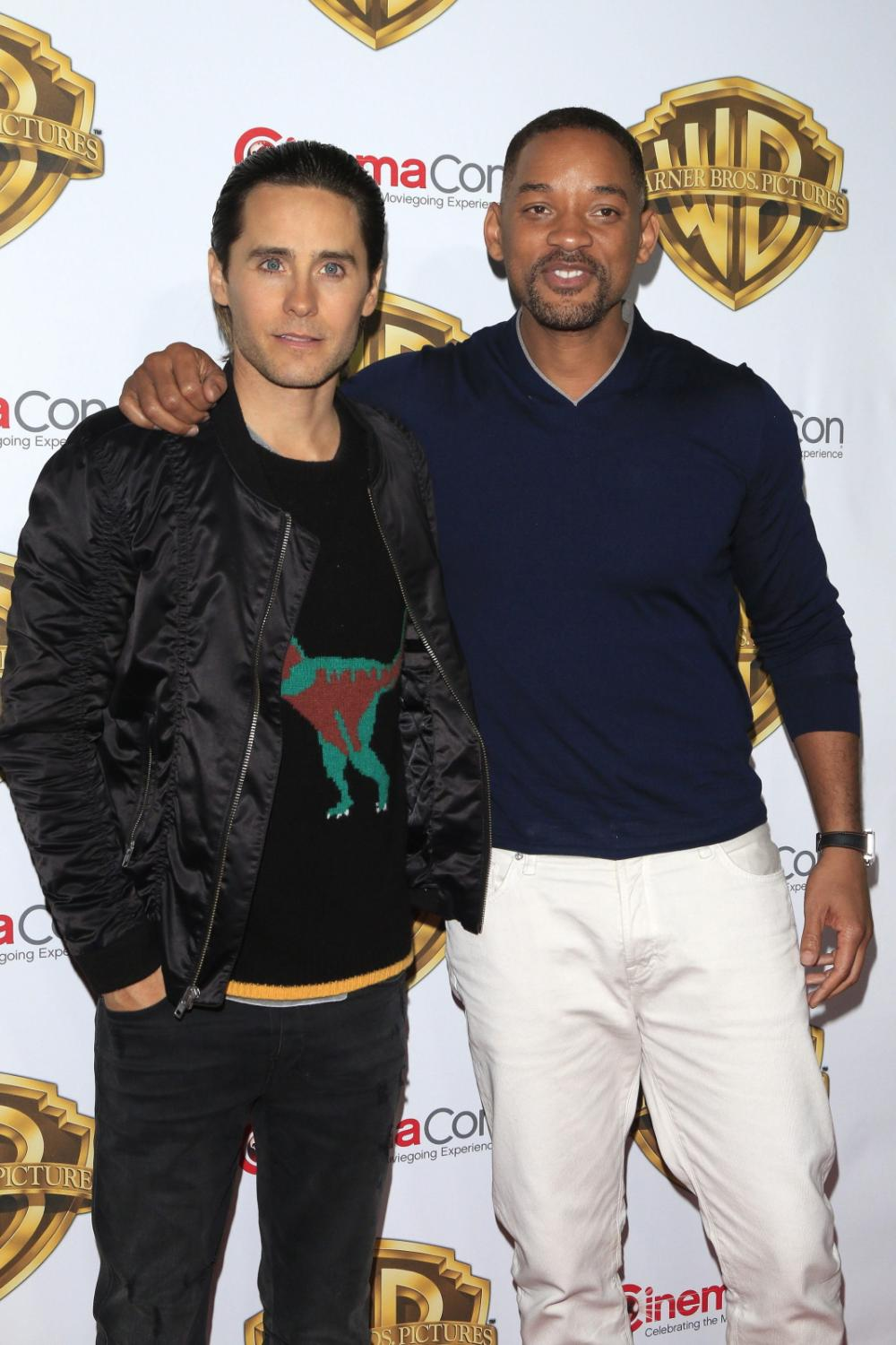 Jared Leto i Will Smith na CinemaCon 2016