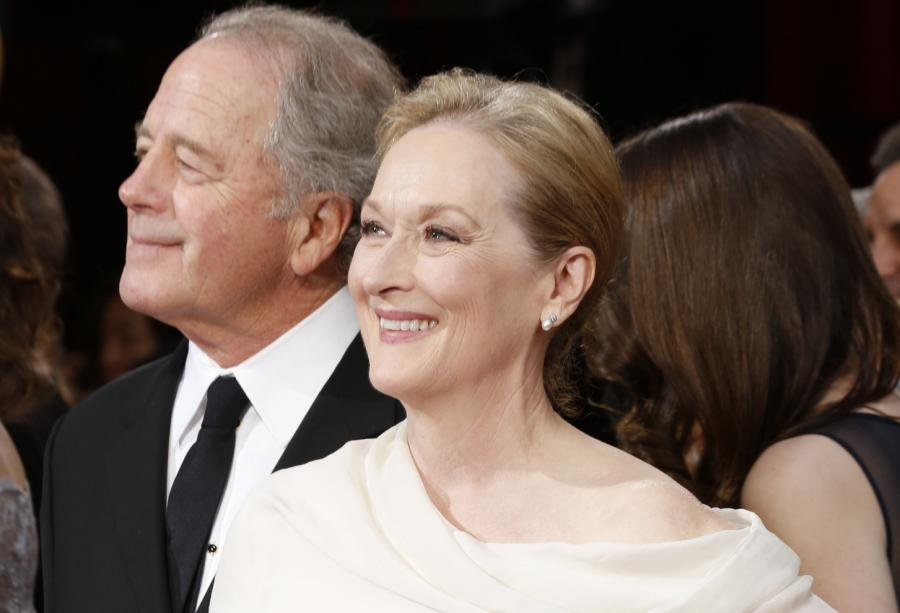 Meryl Streep i jej mąż Don Gummer