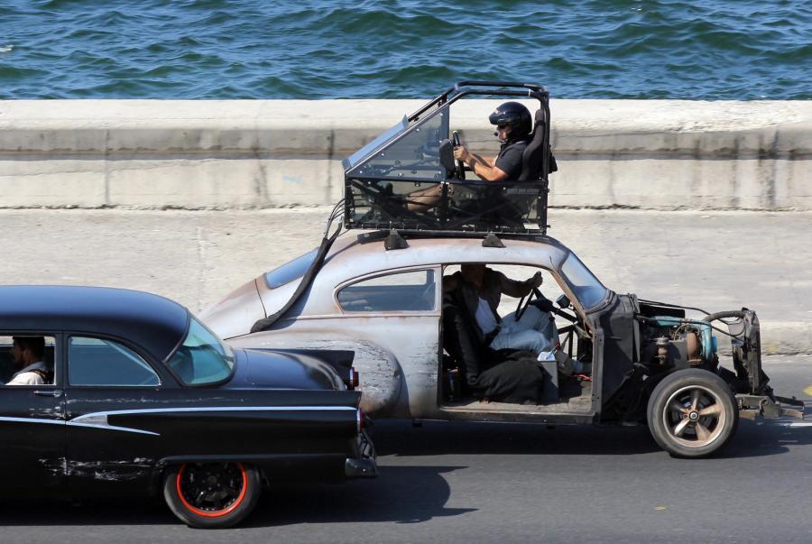 Tak powstają sceny pościgu na ulicach Hawany