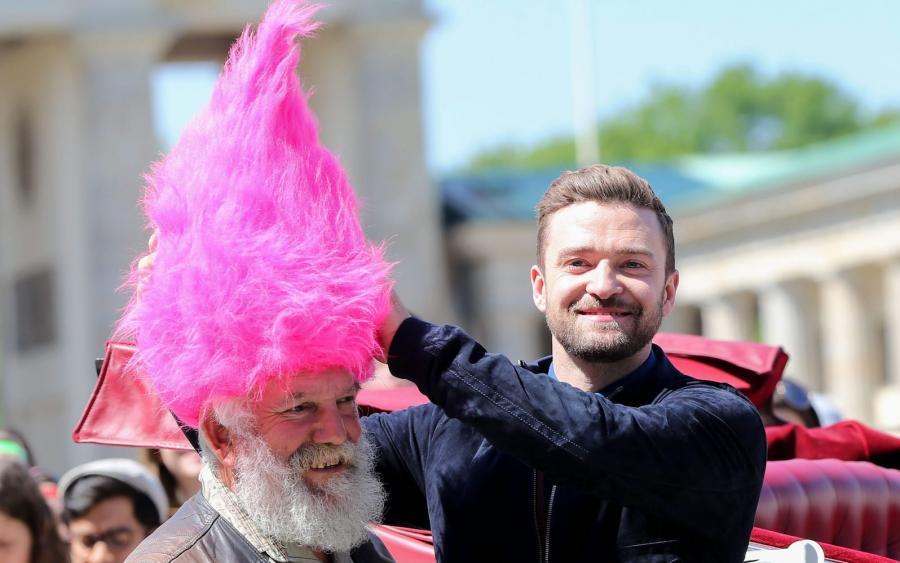 Justin Timberlake promował w Berlinie swój nowy film
