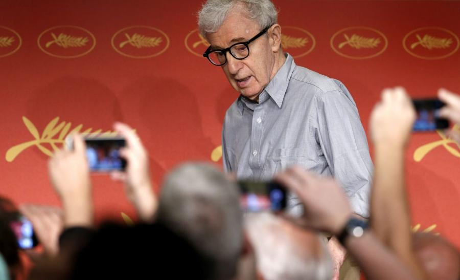 Woody Allen w Cannes