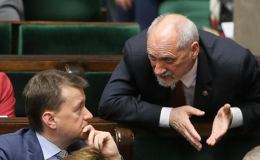 Mariusz Błaszczak i Antoni Macierewicz