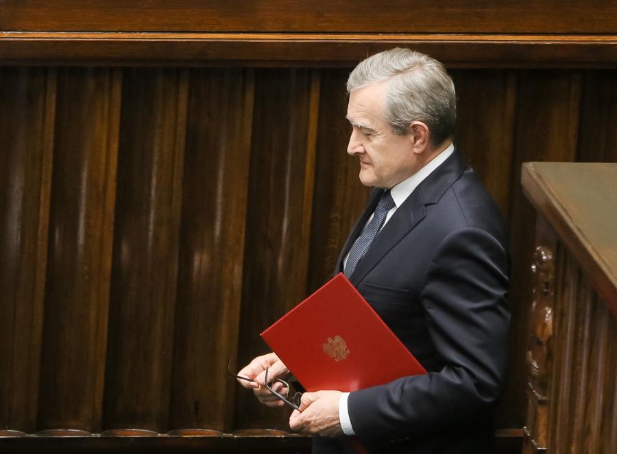 Wicepremier Piotr Gliński