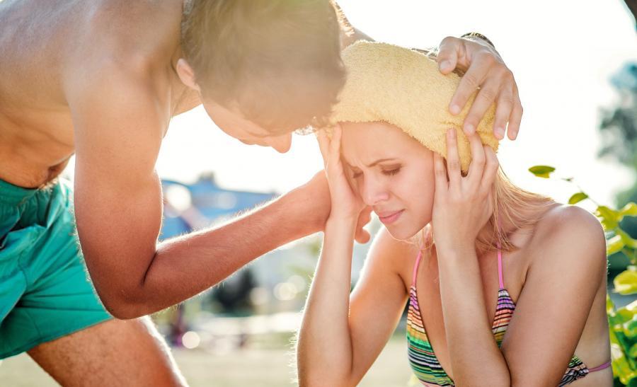 Problemy zdrowotne na wakacjach