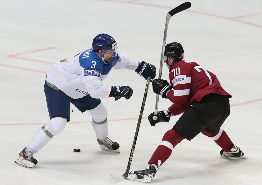 Kazachstan - Łotwa