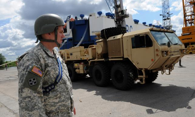 Amerykański sprzęt wojskowy na ćwiczeniach Anakonda 16 [ZDJĘCIA]