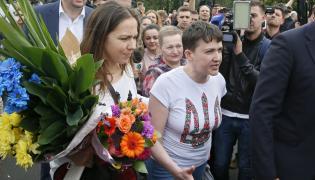 Nadija Sawczenko wróciła na Ukrainę