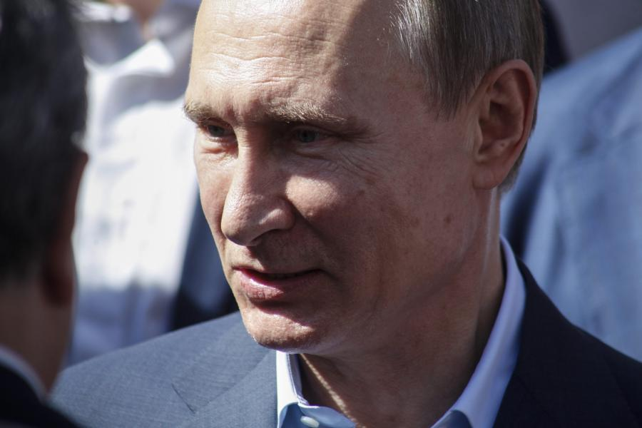 Putin w Grecji