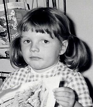 Dorota Zawadzka w dzieciństwie
